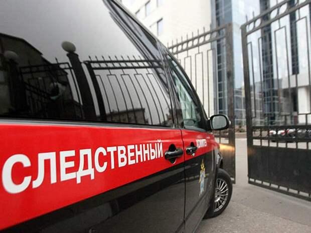 Микроавтобус с детьми улетел в кювет в Подмосковье