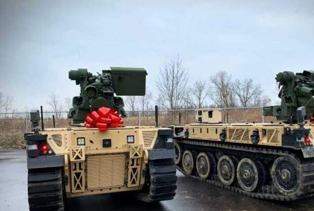 Рождественским подарком для армии США стали боевые роботы RCV-L