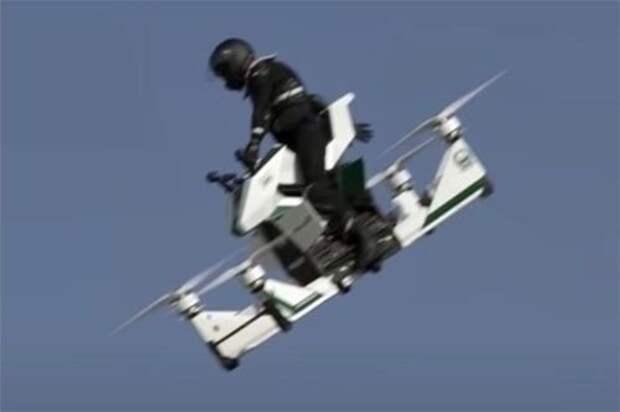 Авария российского Hoversurf Scorpion в Дубае - сработала система безопасности или пилоту просто повезло?