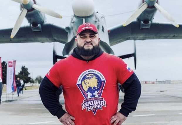 Крымский атлет хочет сдвинуть с места 20-тонный самолет