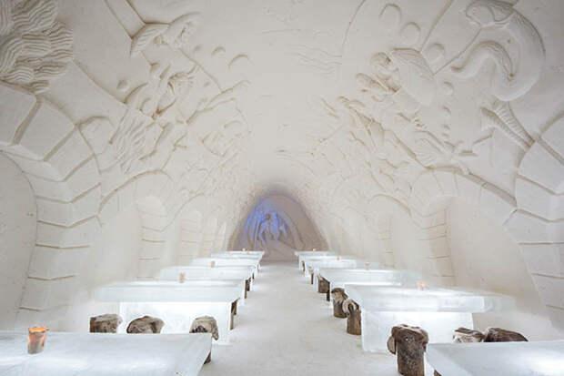 Snow Castle of Kemi Little Mermaid Cabinet @ Timo Laapotti / Foto4U
