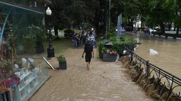 В Черноморском флоте рассказали о помощи крымчанам после наводнений
