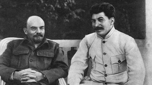 Ленин и Сталин, 1922 год
