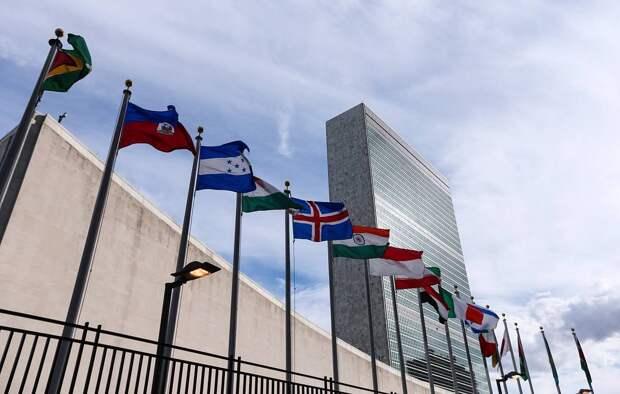 Здание штаб-квартиры ООН  Александр Щербак/ТАСС