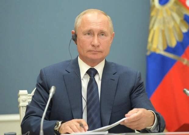 Владимир Путин поблагодарил россиян после голосования по Конституции
