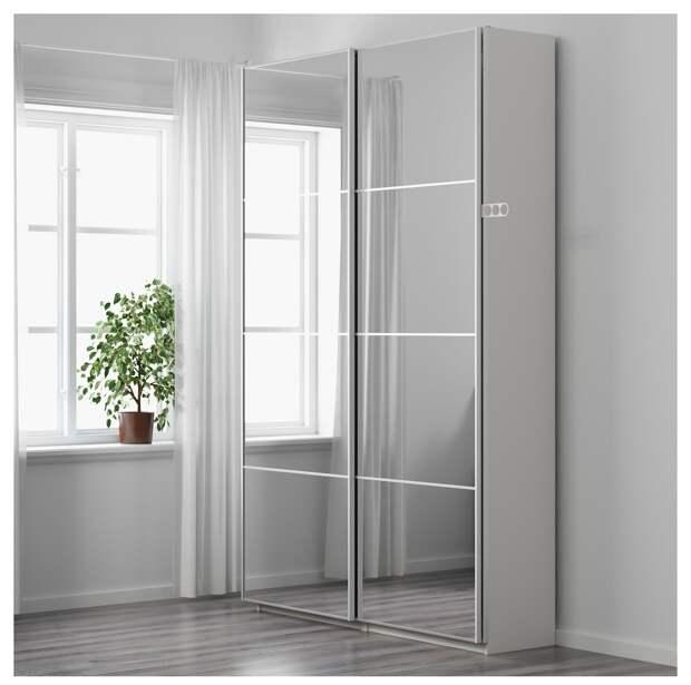 Шкаф «Пакс» в интерьере (48 фото)