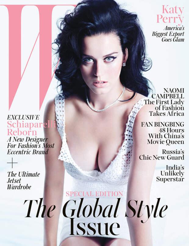 Кэти Перри в ноябрьском выпуске журнала «W Magazine»