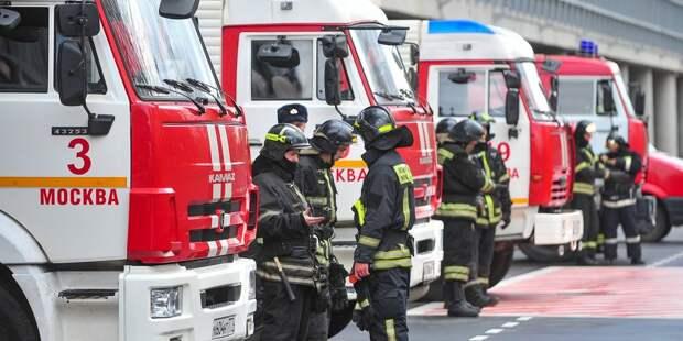 Пожарные выехали по ложному вызову на Академика Комарова