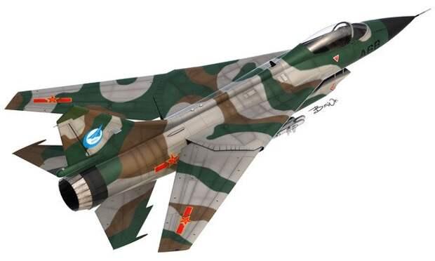Истребитель-бомбардировщик Q-6 с крылом изменяемой стреловидности (проект)