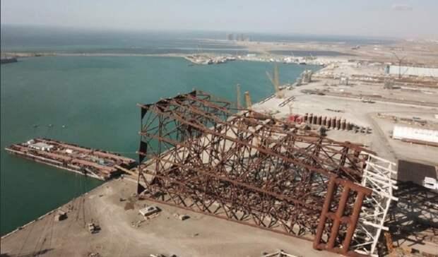 Завершено строительство крупнейшей подводной нефтегазодобывающей установки наКаспии