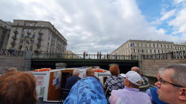 Мост декабристов. Город Санкт-Петербург