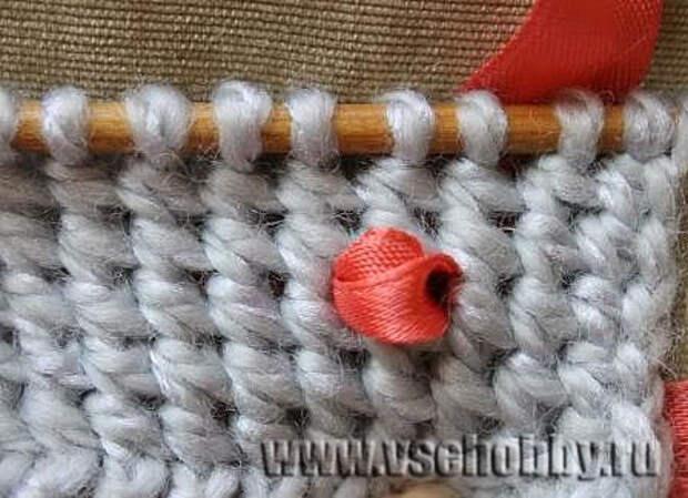 эфиопская резинка как основа вышивки лентами