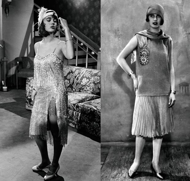 Силуэт женщина-мальчик, популярный в 1920-е года. | Фото: mylitta.ru.