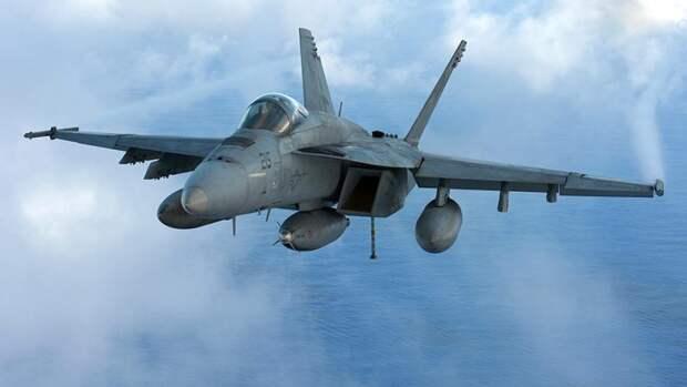 Американский палубный истребитель-бомбардировщикF/A-18E/F «Супер Хорнит»