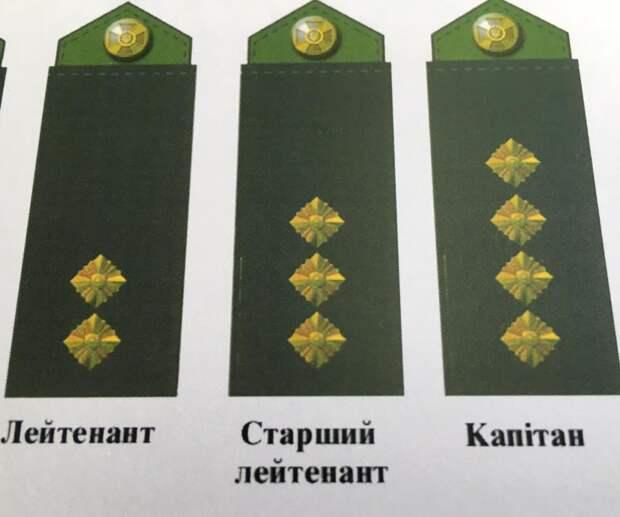 Порошенко убрал советские звёзды с погон украинских военных