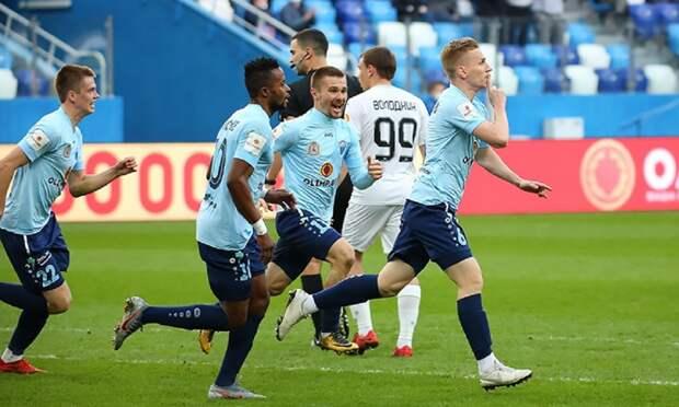 Футболисты «Нижнего Новгорода» обыграли «Чайку» из Песчанокопского