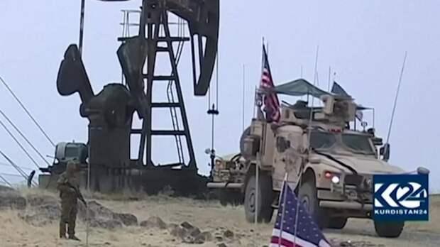 Американские военные контролируют нефтяные месторождения в Сирии. Источник изображения: https://vk.com/denis_siniy
