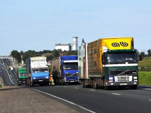 Плату за проезд тяжелых грузовиков будет собирать «Ростех»
