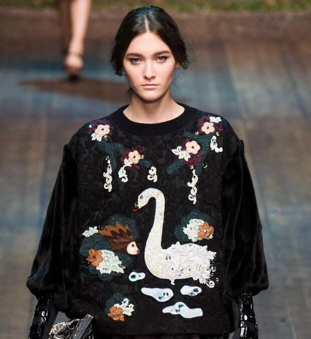 Современные тенденции в вышивке модных домов
