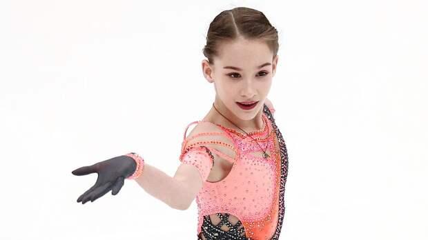 Ученица Тутберидзе Акатьева выиграла финал Кубка России среди юниорок, выполнив тройной аксель и 2 четверных тулупа