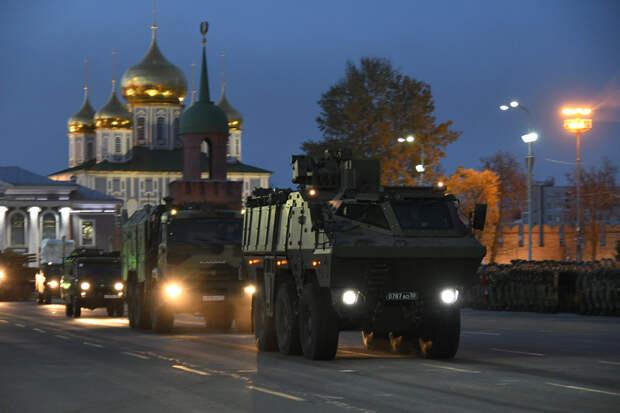 В России разработали новейшую машину химразведки