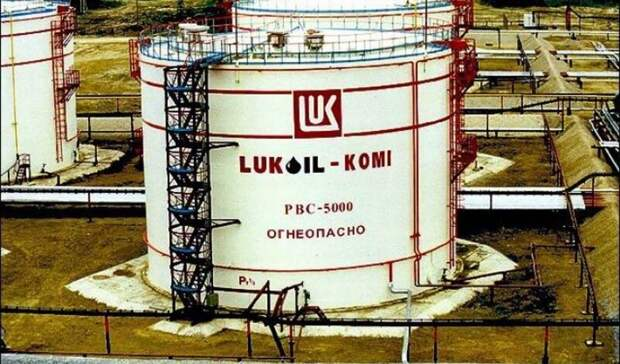 Наместорождении «Лукойл-Коми» вНАО произошел выброс нефти