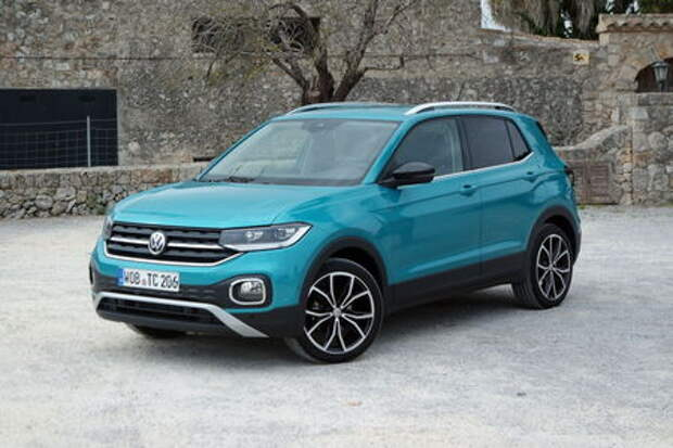 Volkswagen T-Cross уже в SUV-любимчиках