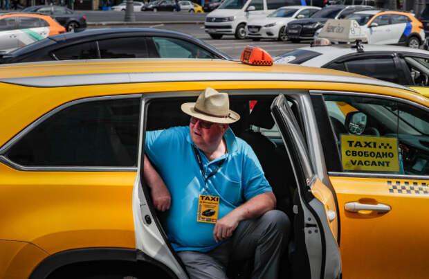 Таксистов без QR-кода в Подмосковье стали отстранять от работы