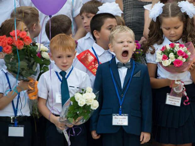 Путин опять идет к детям