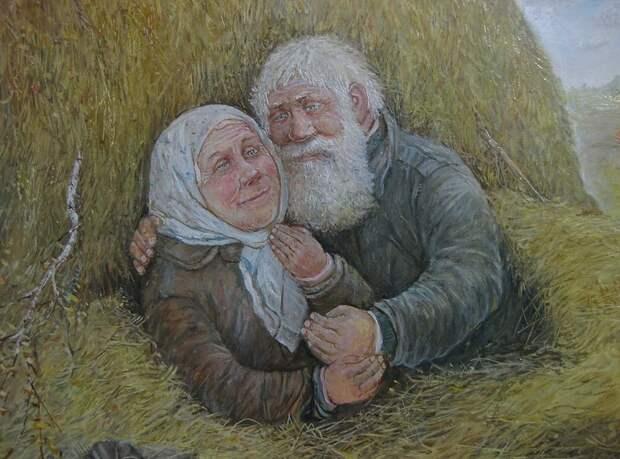 Новогодние гостинцы для деда и бабульки