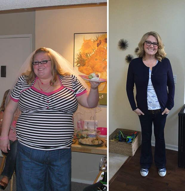 28. Из 156 кг в 85 кг за 8 лет похудение, результат