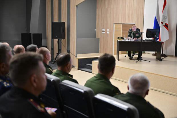 В Подмосковье стартовал сбор руководящего состава инженерных войск ВС РФ