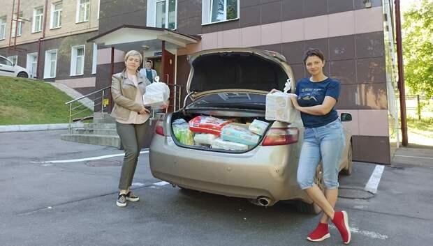 Волонтеры Подольска передали 4 ингалятора детской больнице