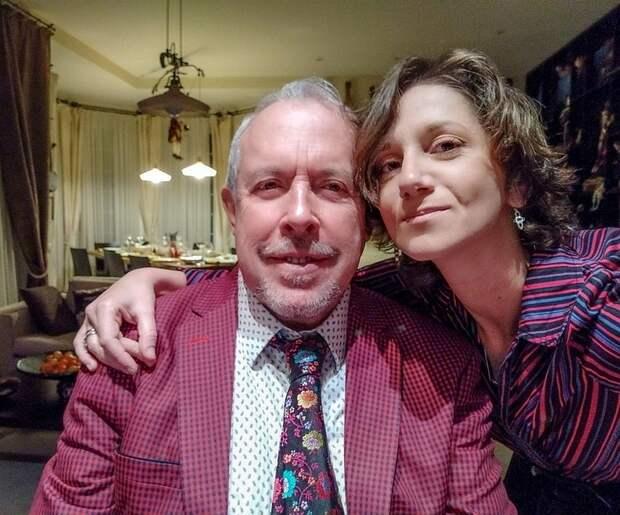 Андрей Макаревич и его четвертая жена Эйнат Кляйн сыграли свадьбу в конце 2019 года Фото: Личный Архив