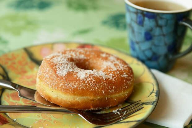 Кефирные пончики за 5 минут. Тают во рту!