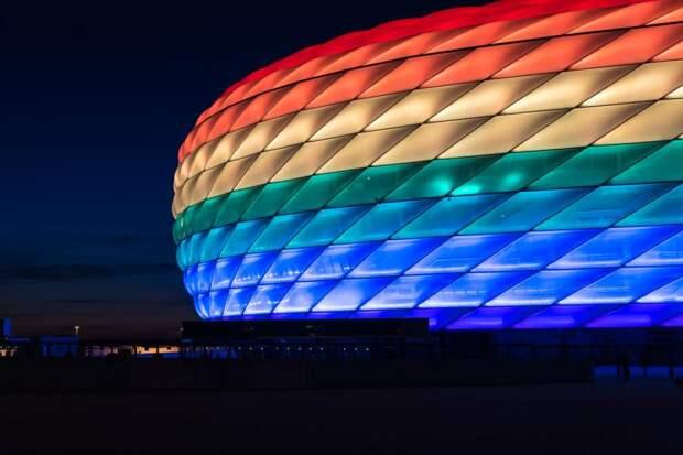 Немецкие футбольные клубы проведут ЛГБТ-флэшмоб вовремя матча Германия— Венгрия: Новости ➕1, 23.06.2021