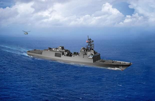 Обратите внимание! Это новейший американский клон европейского фрегата FREMM даже внешне практически неотличим от российского фрегата проекта 22350 «Адмирал Горшков»