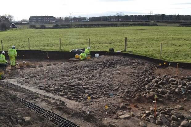Богатое римское поселение обнаружено под самой длинной дорогой Британии