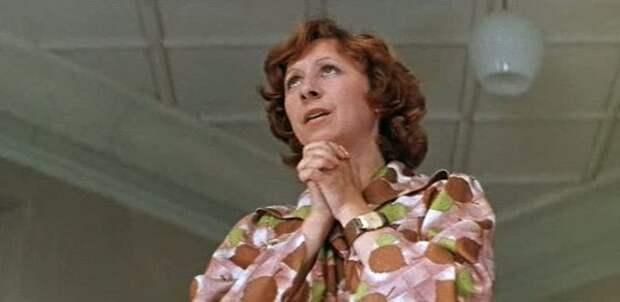 Лия Ахеджакова в фильме «Когда я стану великаном» (1978) (https://www.kino-teatr.ru)