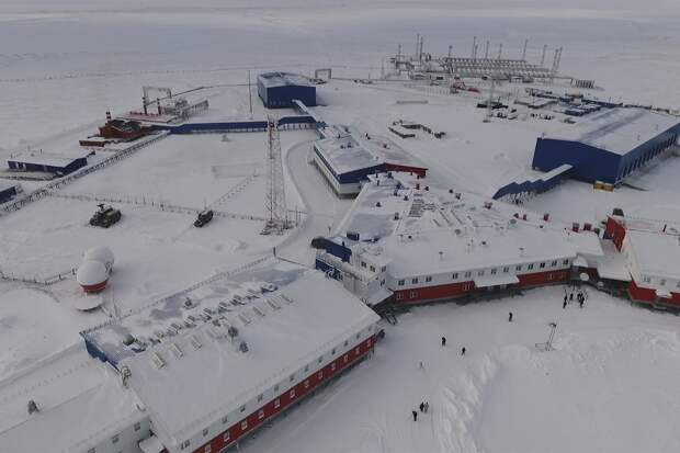 Военная база России в Арктике. Источник изображения: http://worldcrisis.ru/