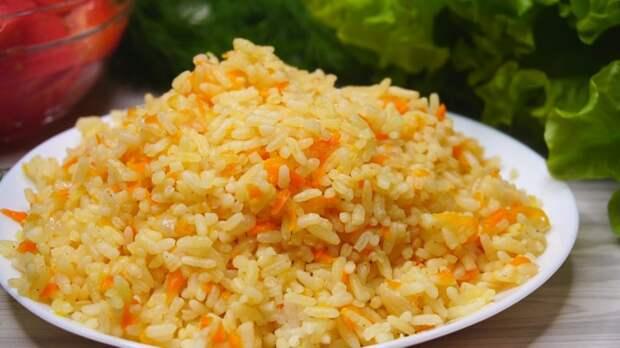 Рис на гарнир не варю в кастрюле, а делаю рассыпчатый и ароматный в сковородке. Так быстрее и вкуснее
