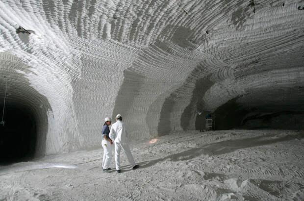 Бывшая соляная шахта Ассе в Германии