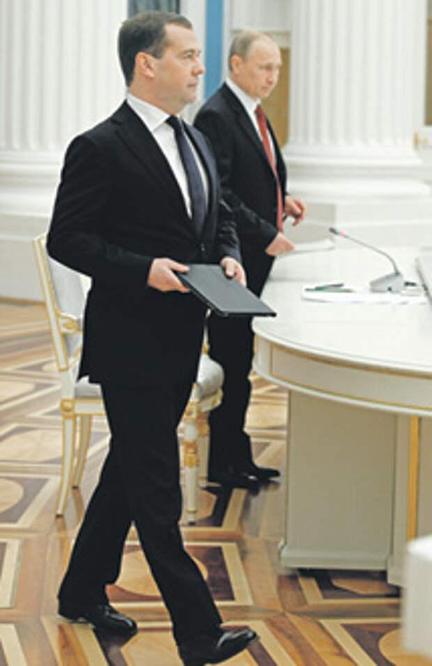 экономика, ввп, бюджет, инвестиции, нефть  / Дмитрий Медведев представил президенту план работы правительства до 2018 года. Фото РИА Новости