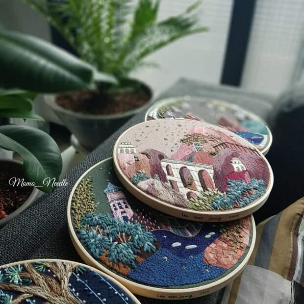 Вышивки  Eun-jeong Lee
