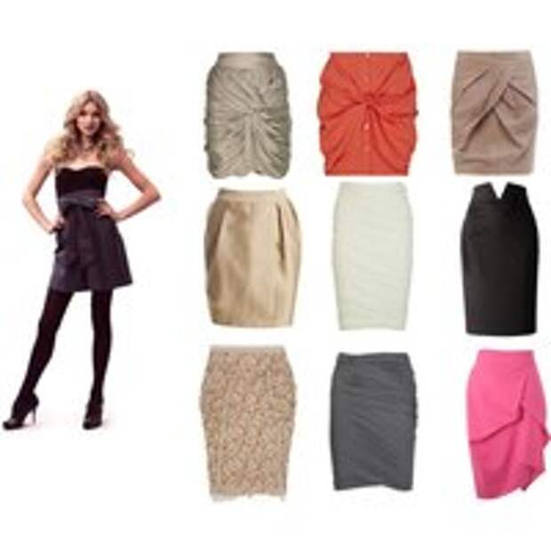 Модные фасоны юбок в 2014 году