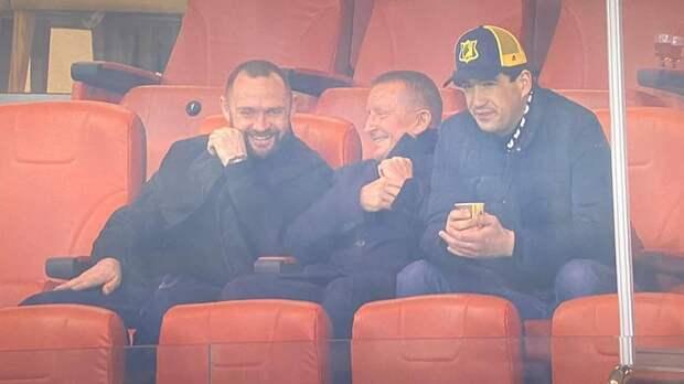 Первый сити-менеджер Ростова Горбань появился вVIP-зоне наматче со«Спартаком»