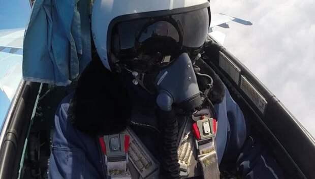 Как выглядит воздушный бой из кабины пилота МиГ-29: видео