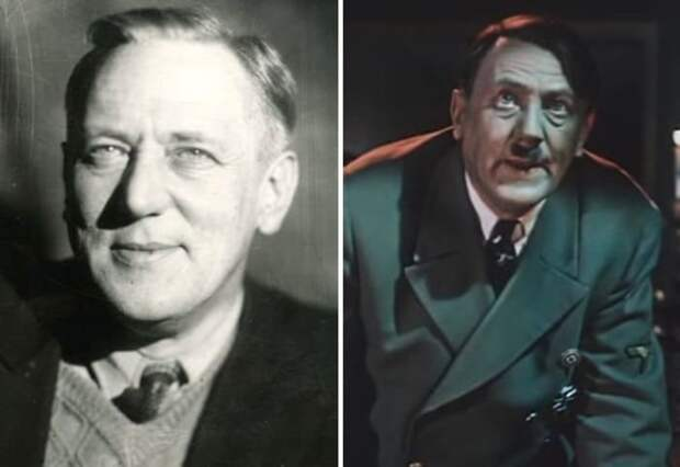 Владимир Савельев играл Гитлера в советских фильмах конца 1940-х гг.   Фото: kino-teatr.ru