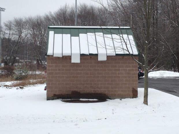 Зимняя природа без фотошопа