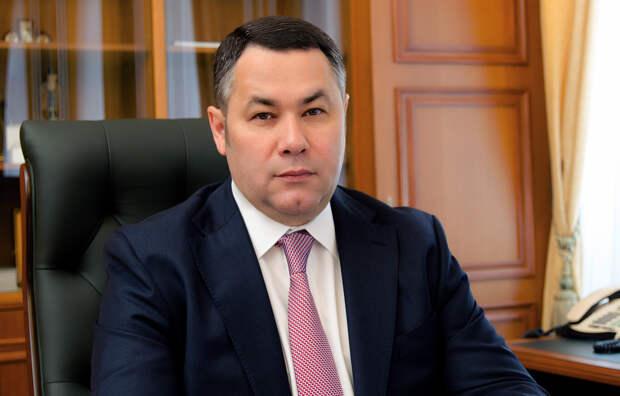 Руденя с большим отрывом лидирует на выборах губернатора Тверской области